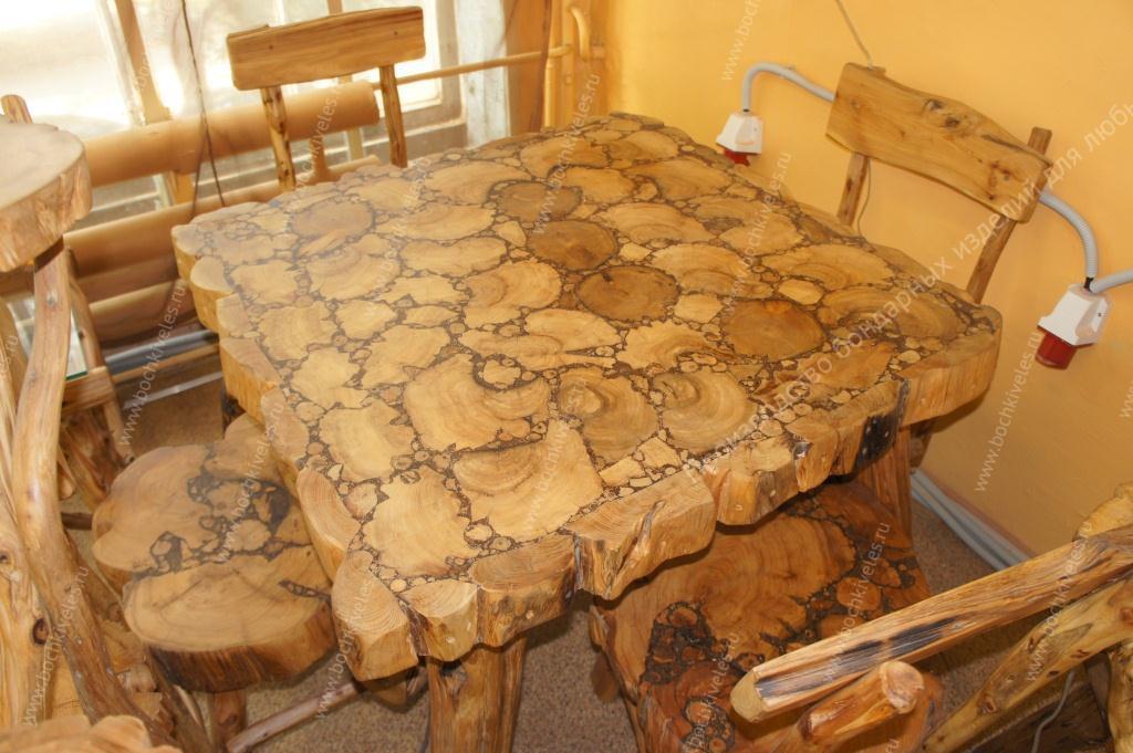 мебель из можжевельника
